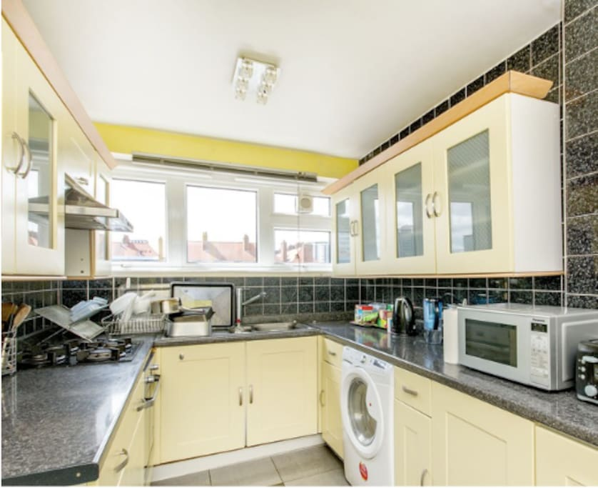 Separate fully fitted kitchen