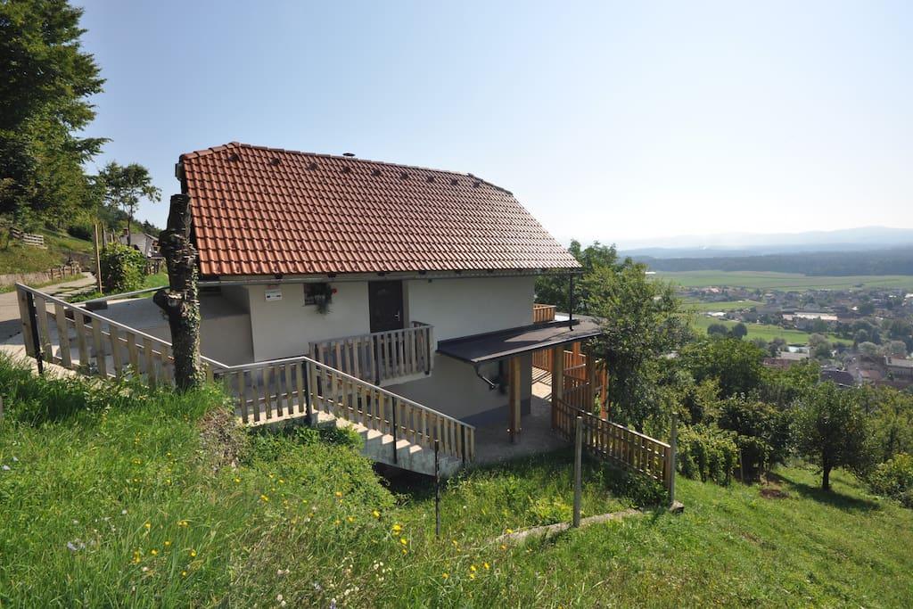 Vineyard Cottage Krštinc