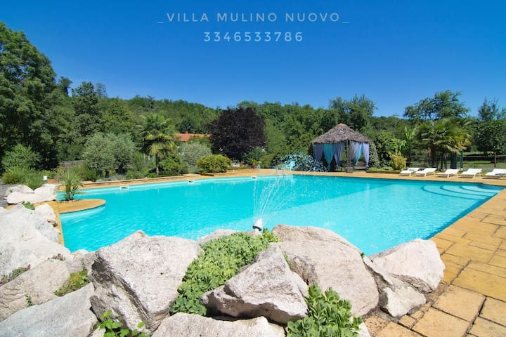 Villa mulino nuovo, with pool and private park