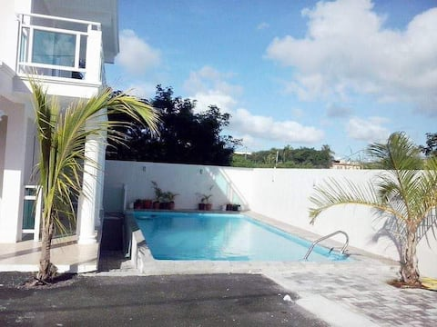 Two Bedroom Flat, Residence la Plage, Calodyne