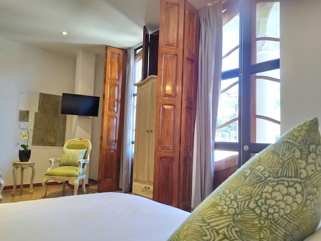 Suite Luna de miel en el Centro de Quito