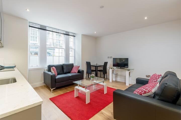 Central Edinburgh Apartments Thistle Street Flat 2