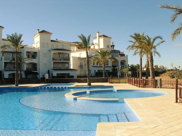 Penthouse overlooking golfcourse - Torre-Pacheco - Apartment