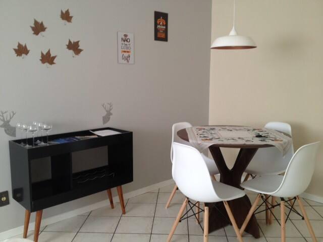 Apartamento em Blumenau - aconchegante e funcional
