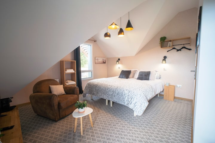 Double room-Chambre « Jardin d'hiver-Ensuite-Deluxe-Garden View