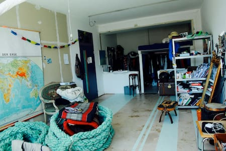 Beautyful big room in a creative surrounding!* - Zürich - Wohnung