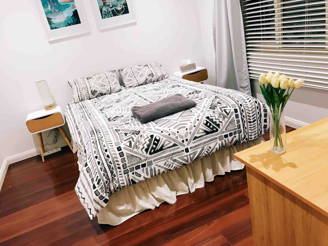 Private bedroom for 1 or 2 people.