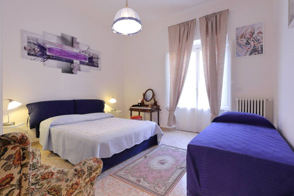 Donatello Bedroom for 3 people