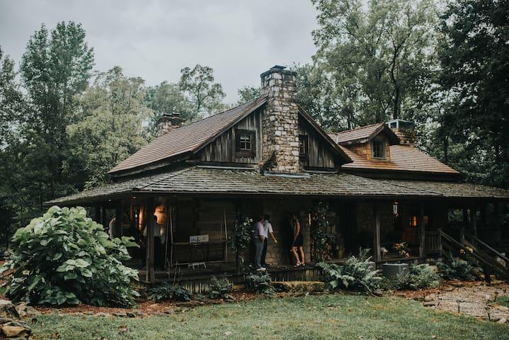 Majestic log cabin in the woods. - Prospect - Srub