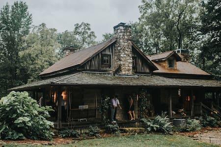 Majestic log cabin in the woods. - Prospect - Kisház