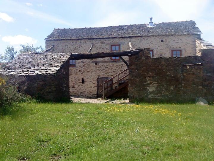 Gîte de Lacroux , piscine chèvres  ânesse