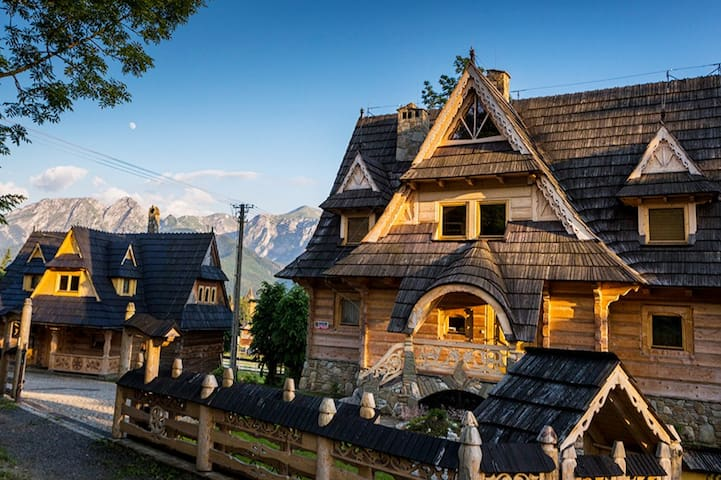 Góralski Spa - Luxury villa with sauna  & hot tub