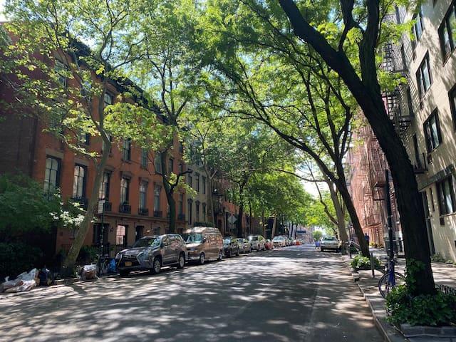 Spend Summer in Heavenly West Village