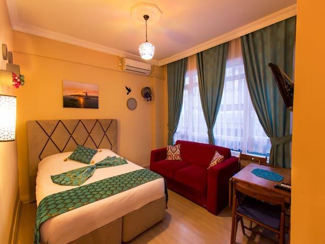 Semi Basement for 6 people - Fatih - Apartment
