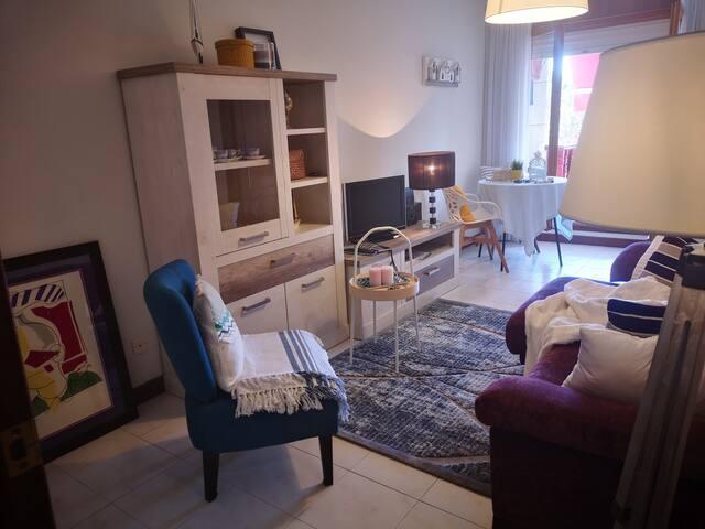 Apartamento Noja , cerca playa , con WiFi y garaje