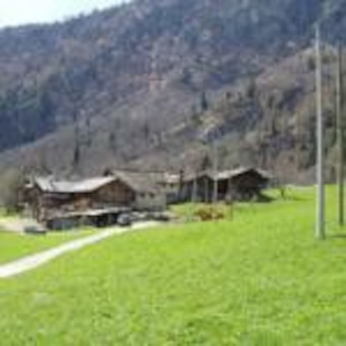 Vista della frazione Rusa