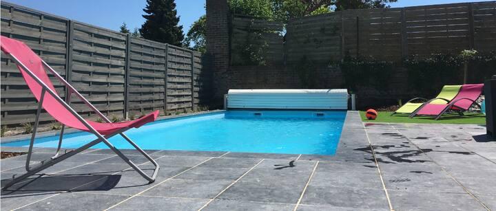 Le Ter ARRAS ACHICOURT Maison  piscine et jacuzzi