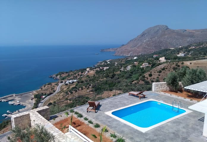 Stunning Sea View,Infinite Blue,Royal Relaxation 3 - Plakias - House