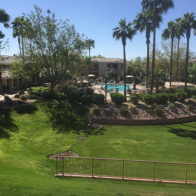 Desert Breeze Resort-Like Grounds + Pool Area