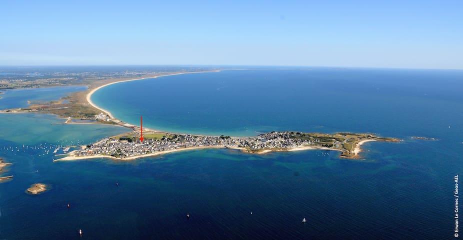 Maison d'été très proche des plages, toute équipée - Gâvres - Casa