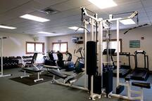 Get your workout in at the recreation center in Sapphire Valley if you choose.