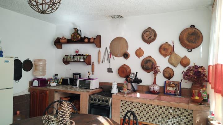 Casa Grande El Tephé Grutas Tolantongo 10-15 pers