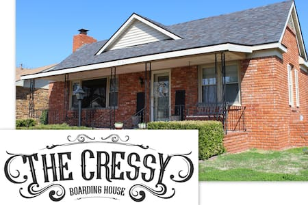 The Cressy Boarding House, Near PW Mercantile