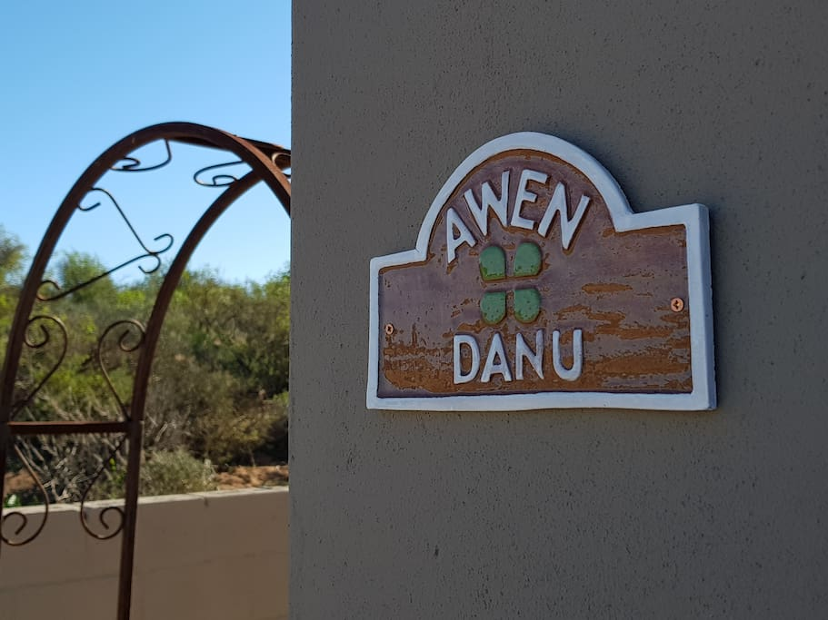 Entrance to Danu Studio