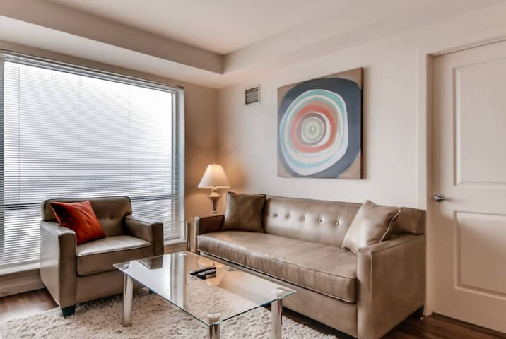 Lux 2 Bedroom by Fenway with washer/dryer & WIFI