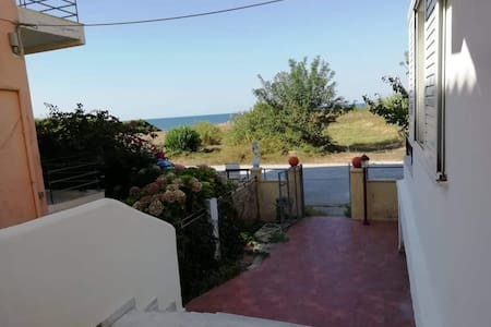 Kalamitsi house with view the Ionian sea
