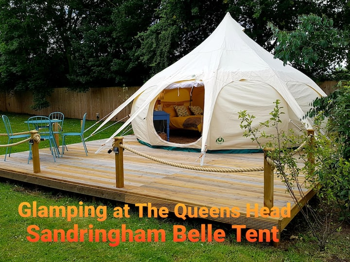 Glamping @The Queens head (Sandringham 2-4 People)