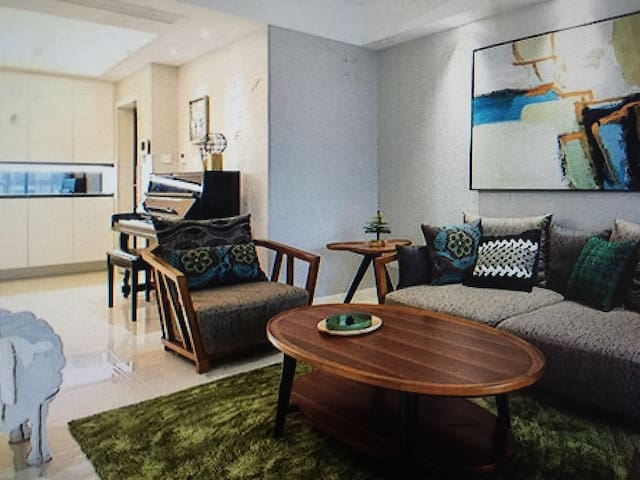 Japanese tatami room bedroom - 安庆市 - Appartamento