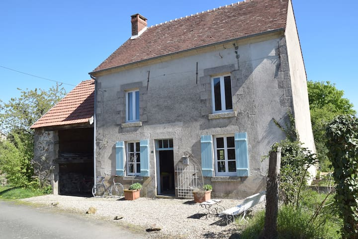 Relaxed family maison in a little hamlet - Saint-Sulpice-le-Dunois - Talo