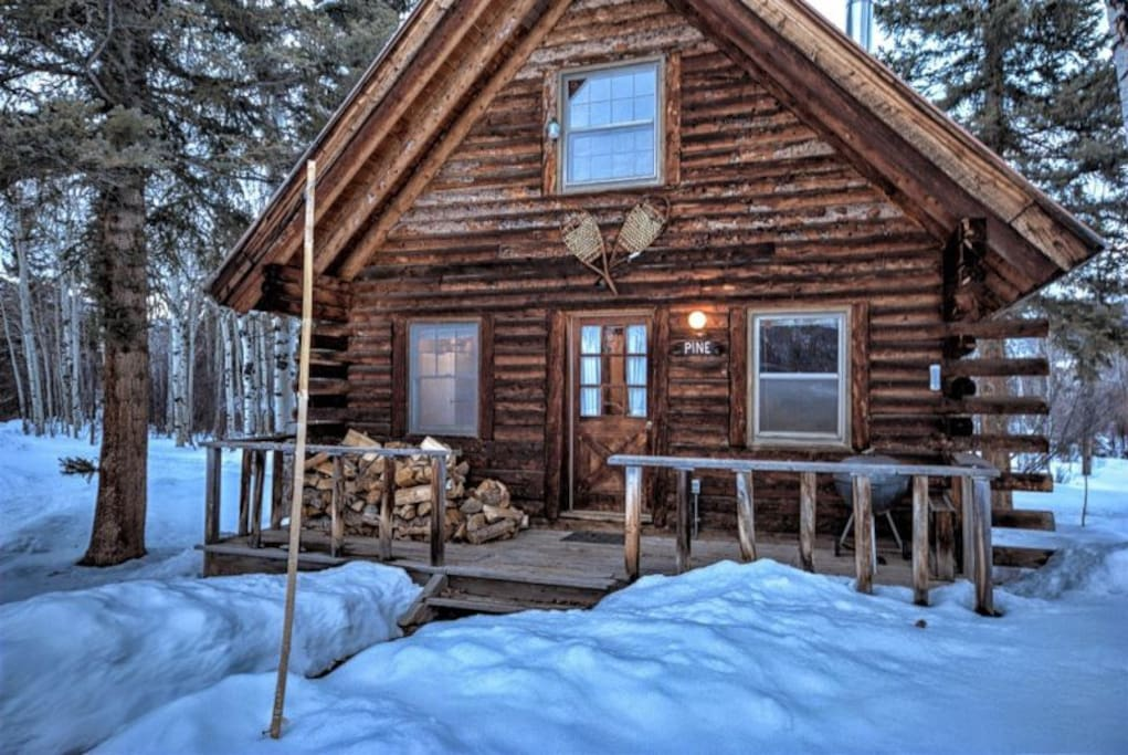 Perry mansfield pine cabin historic cabin cabins for for Steamboat springs cabins for rent