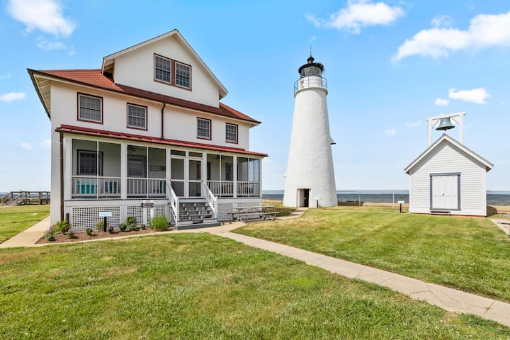 Cove Point Lighthouse Keeper's House- Side A