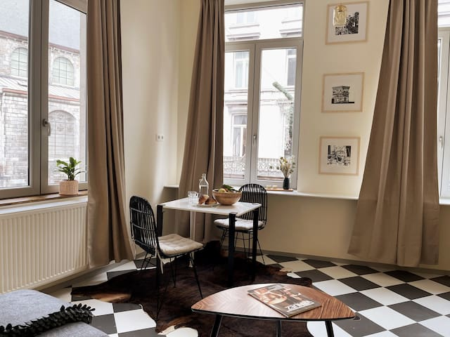 Modern apartment in Historical center of Liège