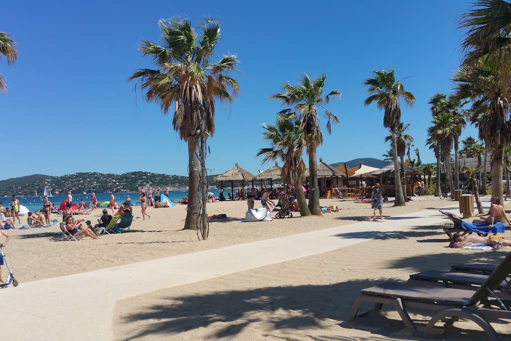 Le village  et sa plage