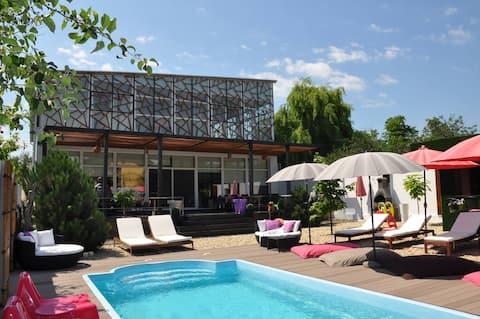 Chambres privatives Maison d'Architecte Design