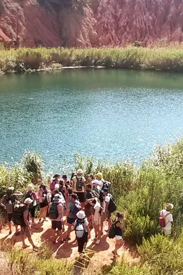 Il Lago dell'Ex Cava di Bauxite