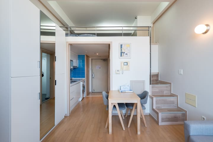 Comfort duplex studio in GANGNAM - Gangnam-gu - Rumah