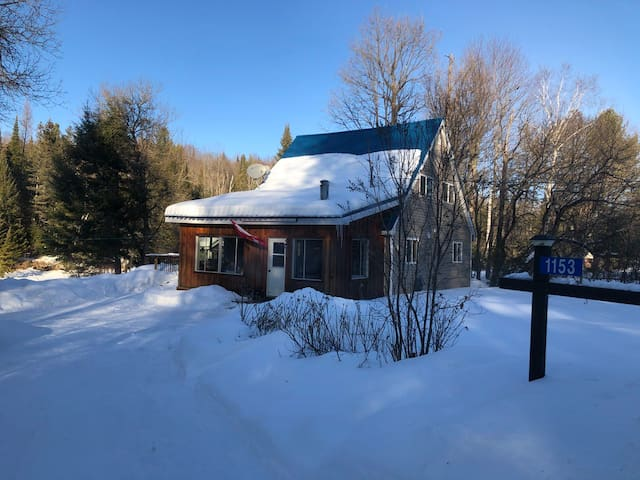 Irondale Cabin in the heart of the Kawartha's