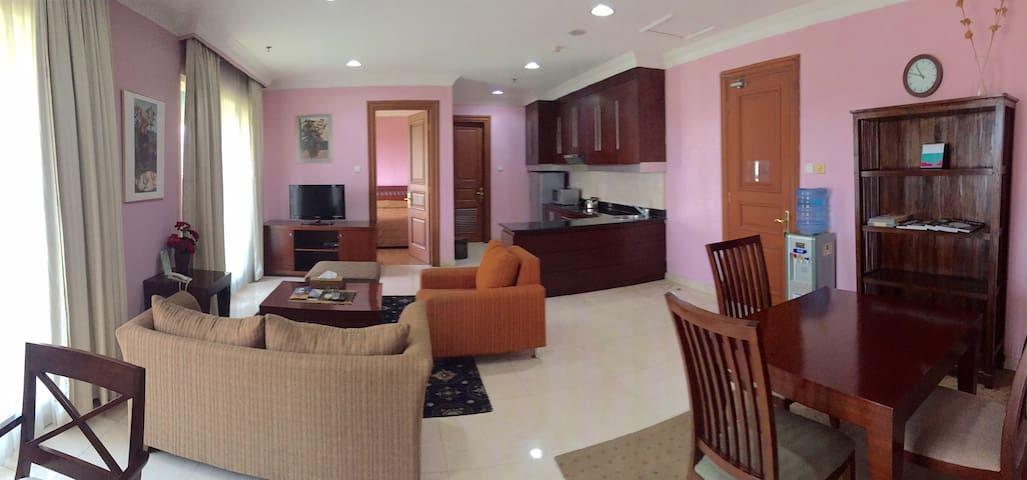 Oktroi Plaza Serviced Apartment Kemang - 2 Bedroom - Mampang Prapatan - Appartement