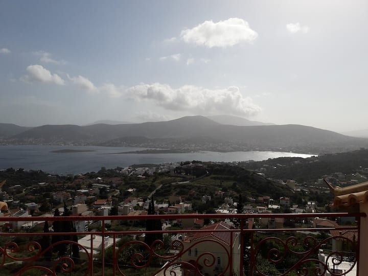 Porto Rafti Home with a View