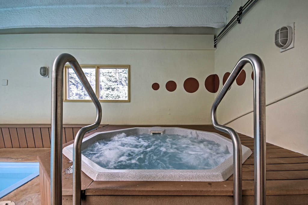 Take a refreshing dip in the community hot tub after exhausting days packed with adventure.