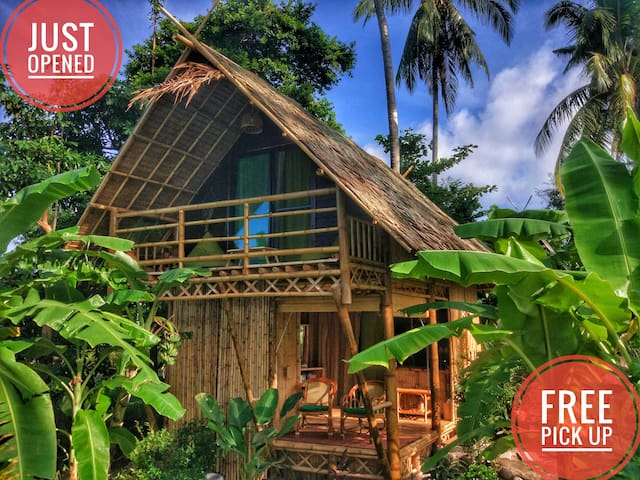 Seaview ECO LOFT bamboo bungalow