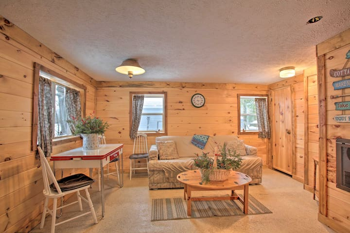 NEW! Bass Lake Living w/ Cozy Cabin in Michigan!