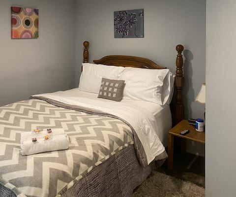 Perfect Broad Ripple Location: Great Private Room