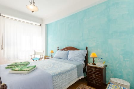 Double bed near Lisb airport(Blue) - Loures - Wohnung