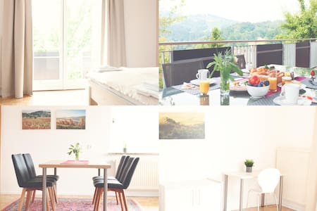 """Appartement """"freiBLICK"""" mit großer Sonnenterasse"""