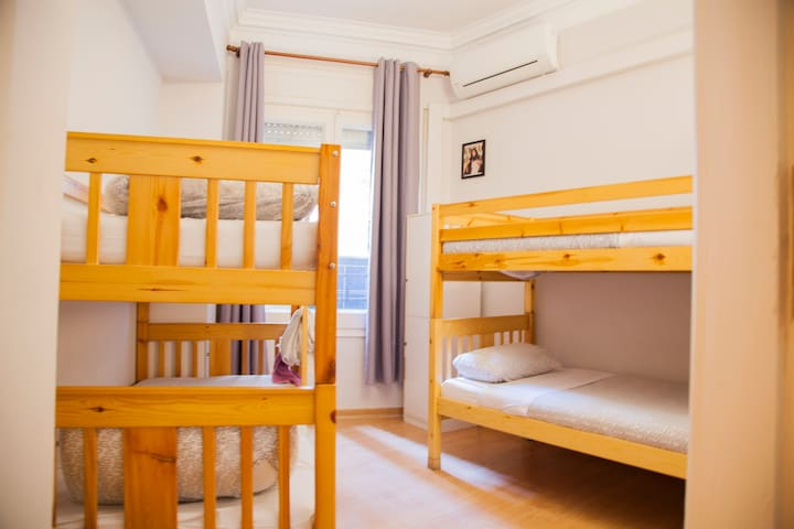 wow! Barcelona Single Bed in 4 Beds Dormitory Room